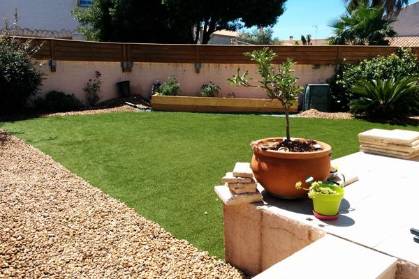 Cr ation d 39 un jardin for Jardin creation